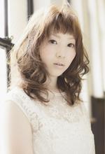 カジュアルLOVEウェーブ|EX-grace Hair Resort 七条店 With Coccolo 岡田 昌子のヘアスタイル