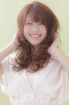 ハッピーシホンカール|EX-grace Hair Resort 七条店 With Coccoloのヘアスタイル