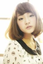 クーリッシュボブ|EX-grace Hair Resort 京都店 With Coccoloのヘアスタイル