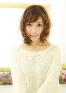 RMB:エアリーミディアム|EX-grace Hair Resort 京都店 With Coccoloのヘアスタイル