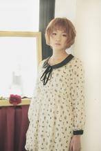 SR:透け感ショート|EX-grace Hair Resort 京都店 With Coccoloのヘアスタイル
