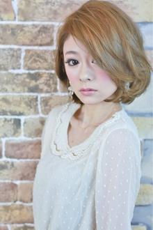 シャーベットカラー☆フレンチボブ|Paradeのヘアスタイル