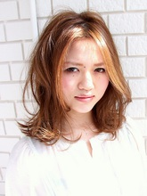 ゆるフワセミディー / Lani hair resort|Lani hair resort 安田 幸司のヘアスタイル