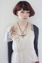アシンメトリー2ブロックボブ|tranq hair design cram hair designのヘアスタイル