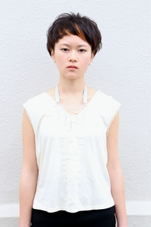 黒髪マッシュ☆ショート|tranq hair design cram hair designのヘアスタイル