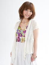 ナチュラル セミディ☆|radiant 阪神甲子園店のヘアスタイル