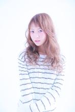 くせ毛風仕上がり|radiant 阪神甲子園店のヘアスタイル