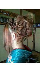 成人式アップ|Hair Art Sherionのヘアスタイル