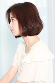 【TheEnglishRoses 三軒茶屋 美容院】ふわボブスタイル