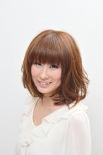 ふわふわ♪シフォンボブ|Hair salon Fairyのヘアスタイル