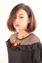 大人モードボブ|Beauty Labo 岡本店のヘアスタイル