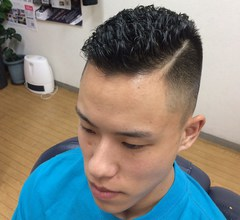 フェードカット&パーマ|Hair Salon SIGEKIのヘアスタイル