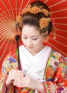 和装ヘアセット Blooming Bridalのヘアスタイル