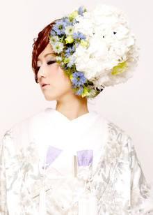 和装ヘアセット 白無垢 Blooming Bridalのヘアスタイル