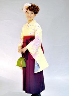 卒業式袴着付け Blooming Bridalのヘアスタイル
