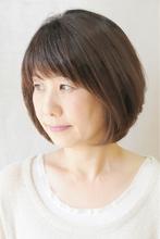 サラツヤ☆大人レイヤーボブ☆|brotoのヘアスタイル