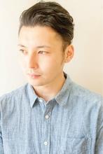 キレイめオールバック◆|brotoのメンズヘアスタイル