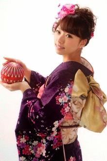 2015年成人式振袖☆着付 着付け+ヘアセット¥19800★|brotoのヘアスタイル