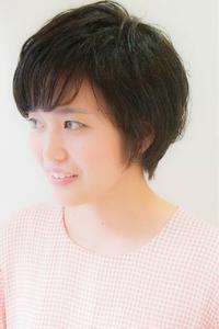 クラシカルな黒髪ショート☆