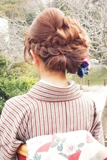 着物☆アップ★|brotoのヘアスタイル