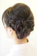 大人気☆編み込みアレンジ♪|broto 島森 和子のヘアスタイル