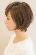 リラックスショートボブ|broto 島森 和子のヘアスタイル