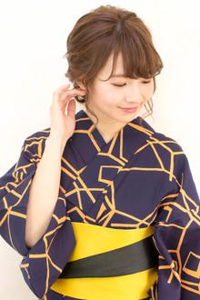 【浴衣レンタル】\2000〜☆花火大会夏祭り 手ぶらでOK☆ |brotoのヘアスタイル