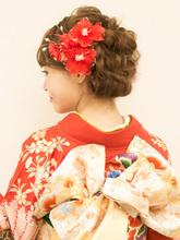 【成人式】振袖着付け+ヘアセット|brotoのヘアスタイル