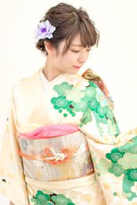 【成人式】振袖着付け+ヘアセット