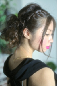 【Grous Hair 】編み込みパーティセット☆