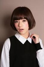丸いシルエットのボブスタイル|ROOTS Yokoyama のヘアスタイル