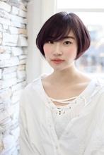 透け感シンプルボブ|ROOTS Kato Takakoのヘアスタイル