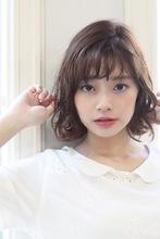気ままに揺れる毛先で女性らしさ&愛され度UPのボブスタイル|ROOTS Hirano Tomomiのヘアスタイル