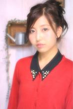 小顔・甘辛MIXアレンジ|Laissez 新松戸duex店 Creative teamのヘアスタイル