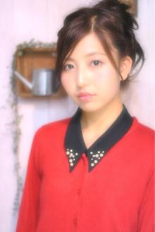 小顔・甘辛MIXアレンジ|Laissez 新松戸duex店のヘアスタイル