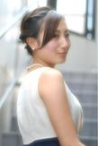 大人ブライダルアレンジ|Laissez 新松戸duex店のヘアスタイル