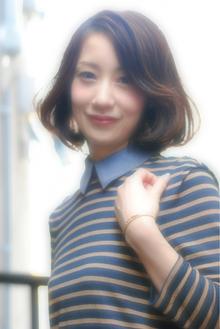 大人女子・エレガントボブ|Laissez 新松戸duex店のヘアスタイル