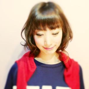 シフォンカールミディ|Laissez 新松戸duex店のヘアスタイル