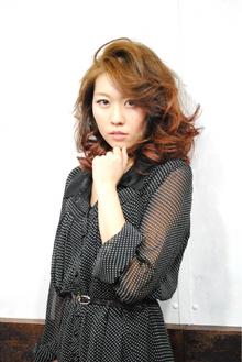 ヴィンテージ風エレガントパーム|Laissez 新松戸duex店のヘアスタイル
