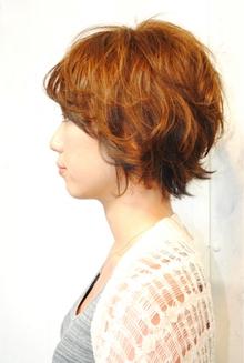 パーマ風コテアレンジ|Laissez 新松戸duex店のヘアスタイル