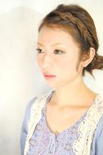アンニュイ・編みこみ・アレンジ|Laissez 新松戸duex店 高橋 慶介のヘアスタイル