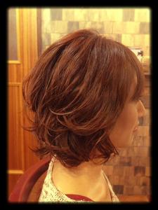 『矢野未希子』風パーマスタイル|Laissez 新松戸duex店のヘアスタイル