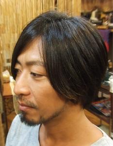 メンズクラシカルボブ|Laissez 新松戸duex店のヘアスタイル