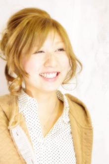 ☆キュートアレンジ☆|Laissez 新松戸duex店のヘアスタイル