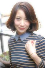 大人女子・エレガントボブ|Laissez 流山店のヘアスタイル