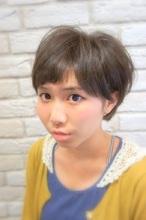 耳かけショート&ショートバング☆ Hair House Luana  by NYNY 名生 康彦のヘアスタイル