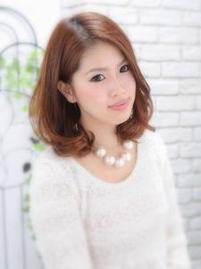 大人かわいいボブ☆|Hair House Luana  by NYNYのヘアスタイル