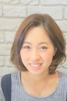 ナチュラルAラインボブふんわり仕上げ☆|Hair House Luana  by NYNYのヘアスタイル
