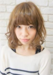 ミルキーボブ☆|Hair House Luana  by NYNYのヘアスタイル