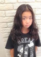 ふわふわkidsパーマ☆|Hair House Luana  by NYNYのキッズヘアスタイル